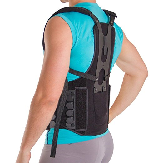 Postural Extension Back Straightener Brace for Kyphosis, Mild Scoliosis, Hunchback & Lordosis Treatment