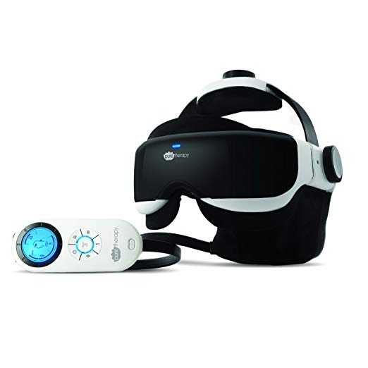Pure Therapy Head & Eye Massager with Tension Relief Acupressure