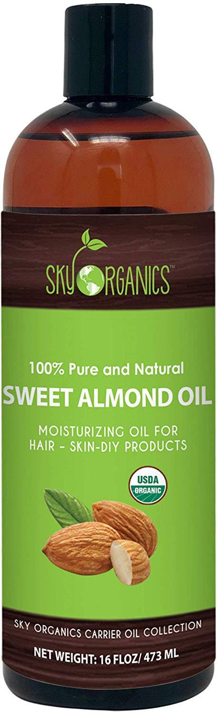 Sweet Almond Oil by Sky Organics